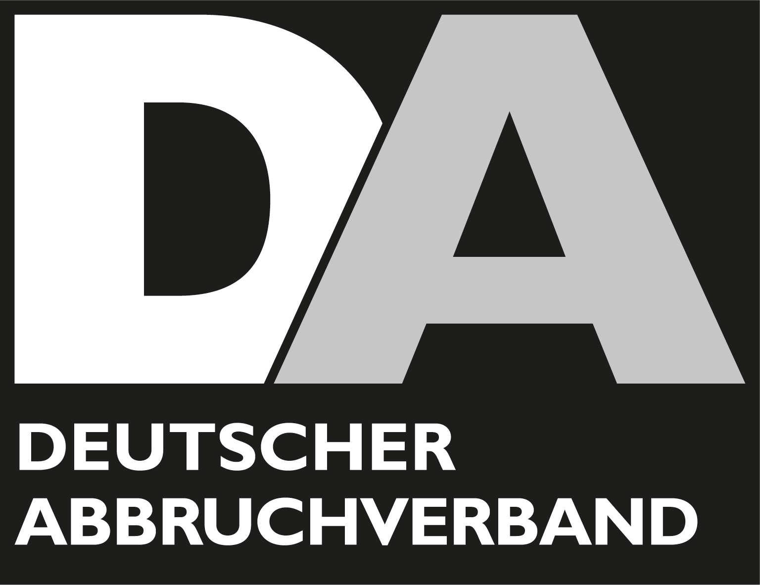 Erdarbeiten - logo deutscher abbruchverband