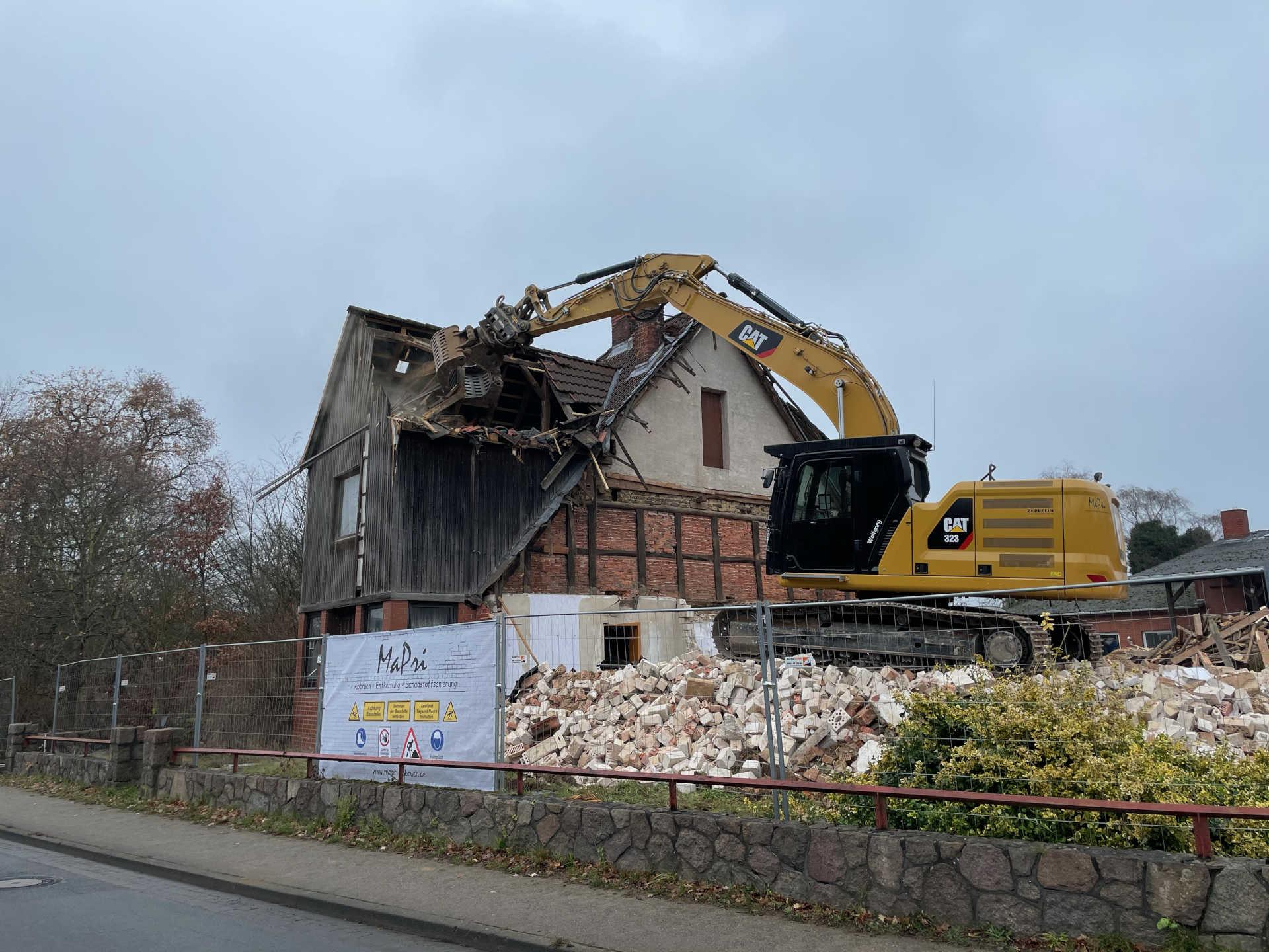 MaPri Abbruch  -  Entkernung, Rückbau in Norddeutschland